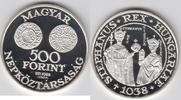 500 Forint 1988 Ungarn - Hungary - Magyarorszag 950. Todestag des Hl. S... 44,00 EUR  zzgl. 4,50 EUR Versand