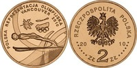 2 Zloty 2010 Polen - Polska - Poland Vancouver 2010 Olympische Wintersp... 0,75 EUR  zzgl. 4,50 EUR Versand
