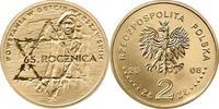 2 Zloty 2008 Polen - Polska - Poland Ghetto Aufstand 65. Jahrestag unzi... 0,75 EUR  zzgl. 4,50 EUR Versand