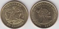 20 Kroner - 20 Kronen 2007 Dänemark - Danmark Schiffe Vaedderen unzirku... 6,00 EUR  zzgl. 4,50 EUR Versand