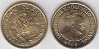 20 Kroner 2008 Dänemark - Danmark Dannebrog - Königliche Yacht unzirkul... 6,00 EUR  zzgl. 4,50 EUR Versand