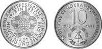10 Mark 1973 Deutsche Demokratische Republik Weltfestspiele der Jugend ... 2,00 EUR  zzgl. 4,50 EUR Versand