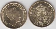 20 Kroner 2010 Dänemark - Danmark Königin Margrethe II. 70. Geburtstag ... 6,00 EUR  zzgl. 4,50 EUR Versand
