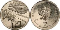 2 Zloty 2011 Polen - Polska - Poland Smolensk – Erinnerung an die Opfer... 1,50 EUR  zzgl. 4,50 EUR Versand