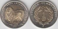 1 Lira 1 Türk lirasi 2011 Türkei - Turkey - TÜRKİYE CUMHURİYETİ Aseatis... 4,00 EUR  zzgl. 4,50 EUR Versand