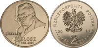 2 Zloty 2011 Polen - Polska - Poland 100. Geburtstag von Czeslaw Milosc... 0,75 EUR  zzgl. 4,50 EUR Versand