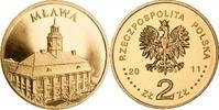 2 Zloty 2011 Polen - Polska - Poland Städteserie Mlawa unzirkuliert  0,75 EUR  zzgl. 4,50 EUR Versand