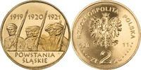 2 Zloty 2011 Polen - Polska - Poland Schlesische Aufstände - 90. Jahres... 0,75 EUR  zzgl. 4,50 EUR Versand
