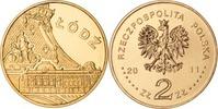 2 Zloty 2011 Polen Polska Poland Städteserie: Lodz Lodsch Stempelglanz  1,00 EUR  zzgl. 4,50 EUR Versand