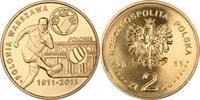 2 Zloty 2011 Polen Polska Poland Polnische Fußballclubs: 'Polonia Warsz... 1,00 EUR  zzgl. 4,50 EUR Versand