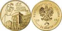 2 Zlote 2009 Polen - Polska - Poland 65. Jahrestag des Aufstands in War... 1,00 EUR  zzgl. 4,50 EUR Versand