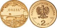 2 Zlote 2012 Polen - Polska - Poland Untergrundboot ORZEL Adler aus dem... 1,00 EUR  zzgl. 4,50 EUR Versand
