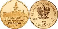 2 Zlote 2012 Polen - Polska - Poland Leichter Kreuzer Dragon (3) unzirk... 1,00 EUR  zzgl. 4,50 EUR Versand