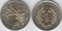 1 Lira 1 Türk Lirasi 2012 Türkei - Turkey - TÜRKIYE CUMHURIYETI Rothirs... 5,00 EUR  zzgl. 4,50 EUR Versand