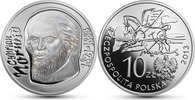 Polen Polska Poland 10 Zlotych Cyprian Kamin Norwid (Dichter)