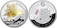 10 Rubel 2013 Belarus - Weissrussland Blumen in Belarus: Lilie Polierte... 45,00 EUR  zzgl. 4,50 EUR Versand