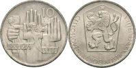 CSR/CSSR/CSFR - Tschechoslowakei 10 Kronen 20Jahre Slowakischer Nationalaufstand SNP