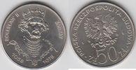 50 Zloty 1981 Polen - Polska - Poland Boleslaw II Smialy, der Wagemütig... 3,00 EUR  zzgl. 4,50 EUR Versand