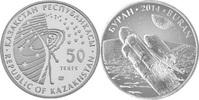 """50 Tenge 2014 Kasachstan Raumstation """"Buran"""" Stempelglanz feinst  4,00 EUR  zzgl. 4,50 EUR Versand"""