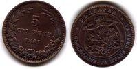 5 Stotinki 1881 Bulgarien - Bulgaria 5 Stotinki ss  12,00 EUR  zzgl. 4,50 EUR Versand