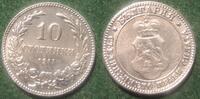 10 Stotinki 1917 Bulgarien - Bulgaria 10 Stotinki Ferdinand I. ZINK RAR... 10,00 EUR  zzgl. 4,50 EUR Versand