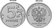 5 Rubel 2016 M Rußland Umlaufmünze neu Mit Zarenadler unzirkuliert  2,00 EUR  zzgl. 4,50 EUR Versand