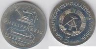 Deutsche Demokratische Republik 5 Mark XX Jahre DDR