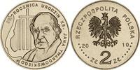 2 Zloty 2010 Polen - Polska - Poland Pfarrer Jan Twardowski 95. Geburts... 0,75 EUR  zzgl. 4,50 EUR Versand