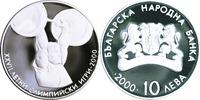 "10 Lewa - 10 Leva 2000 Bulgarien / Bulgaria ""XXVII. Olympische Sommersp... 69,00 EUR  zzgl. 4,50 EUR Versand"