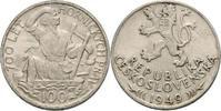 CSR / CSSR / CSFR - Tschechoslowakei 100 Kronen Bergbaurecht,  700 Jahre Bergrecht in Jihlava, Iglau