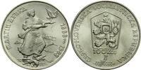 CSR/CSSR/CSFR - Tschechoslowakei 100 Kronen Benka, Martin / 100. Geburtstag des slowakischen Malers