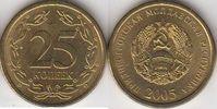 25 Kopeken 2005 Transnistrien Moldawien Moldova Umlaufmünze Stgl. BU  1,00 EUR  zzgl. 4,50 EUR Versand