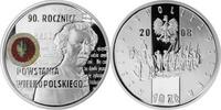 Polen - Polska - Poland 10 Zloty 90. Jahrestag des Großpolnischen Aufstands