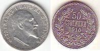 50 Stotinki 1910 Bulgarien - Bulgaria 50 Stotinki Ferdinand I. fast vor... 18,00 EUR  zzgl. 4,50 EUR Versand