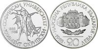 20 Lewa 1988 Bulgarien - Bulgaria 100 Jahre Universität Sofia - Hl. Kli... 15,00 EUR  zzgl. 4,50 EUR Versand