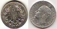 1892 Bulgarien - Bulgaria Ferdinand I. -  5 Lewa-Umlaufmünze sehr schö... 34,00 EUR  zzgl. 4,50 EUR Versand