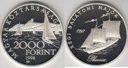 2 000 Forint 1997 Ungarn - Hungary Schiffe auf dem Balaton. Helka und K... 45,00 EUR  zzgl. 4,50 EUR Versand