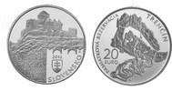 20 Euro 2012 Slowakei - Slovensko - Slovakia Denkmalschutzgebiet von Tr... 45,00 EUR  zzgl. 4,50 EUR Versand