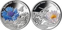2 x 10 Rubel 2012 Belarus - Weissrussland Blumen in Belarus: Kornblume ... 89,00 EUR  zzgl. 4,50 EUR Versand