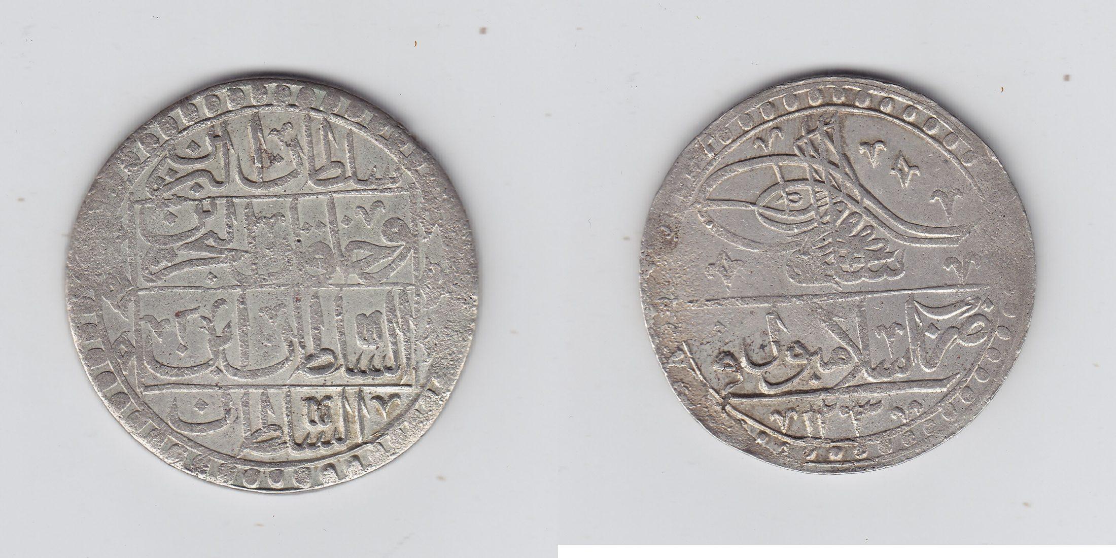 Türkei 1 Yuzluk 1203AH ss