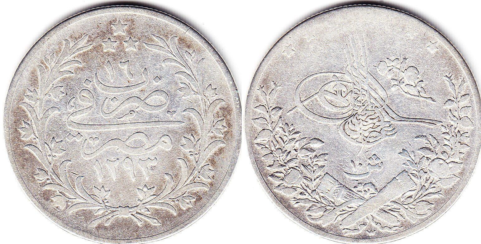 Ägypten 10 Girsh 1293/16