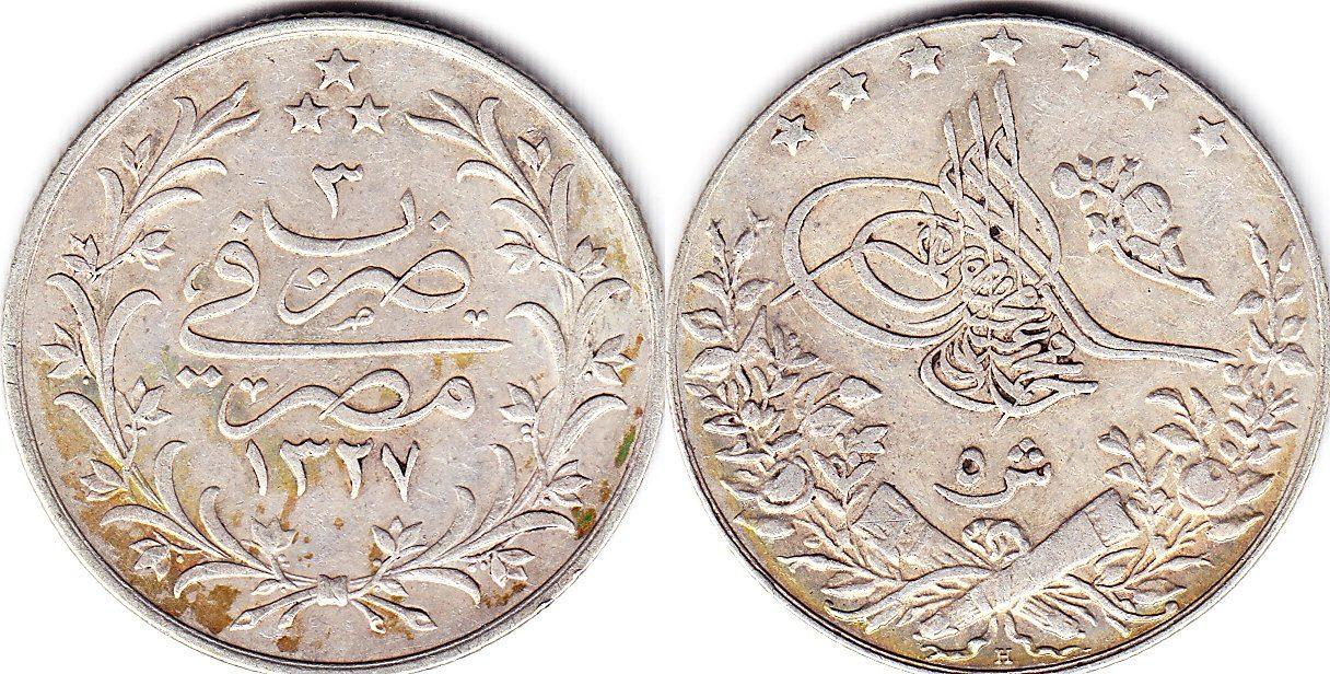 Ägypten 5 Girsh 1327/3
