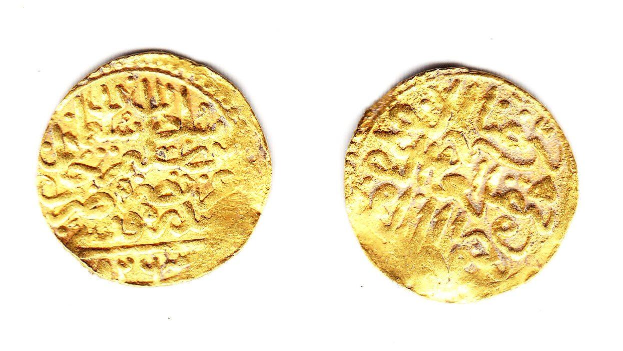 Türkei Suleyman I Altin 926 Sidrekapsa ss