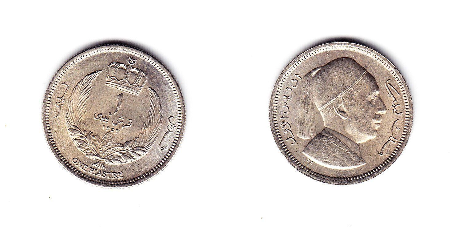Libyen 1 Piaster 1952 unz