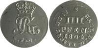 Braunschweig und Lüneburg - Hannover 4 Pfennig Georg III. 1760-1820