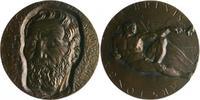 Personen Gußmedaille Michelangelo, a.s. 400. Todestag