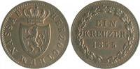Nassau 1 Kreuzer Adolph 1839-1866