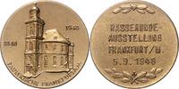 Frankfurt Bronzemedaille Prämie der Rassehunde-Ausstellung am 5.9.1948