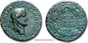 Sestertius / Sesterz 68 A.D. Roman Empire / RÖMISCHE KAISERZEIT GALBA Sehr Schön