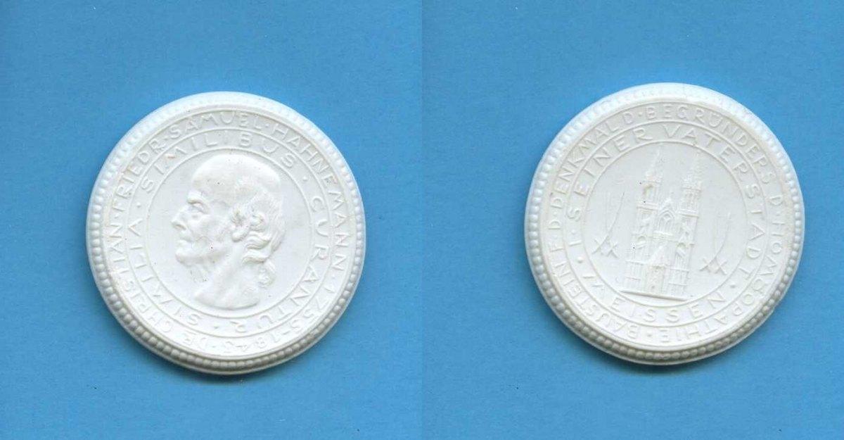 porzellan medaille 1922 deutsches reich meissen dr. Black Bedroom Furniture Sets. Home Design Ideas